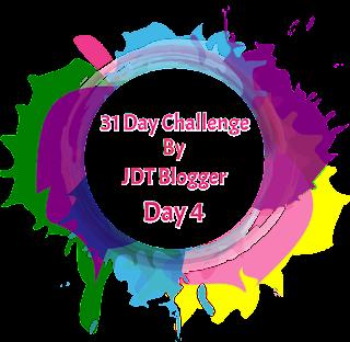 31 Day Challenge By JDT Blogger | Day 4-Apa yang ada di dalam Beg