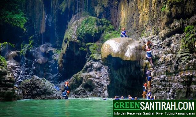 Paket Green Canyon Body Rafting Pangandaran