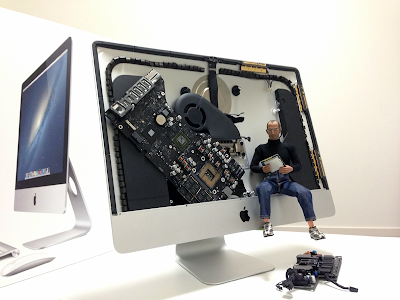 新しいiMacのデザインは内部の美よりもコストダウンを優先か?
