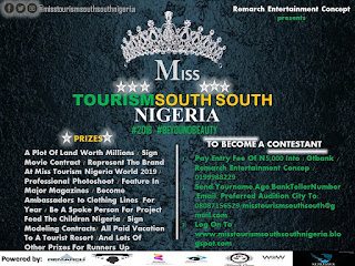 Miss Tourism South South Nigeria Beauty pageant
