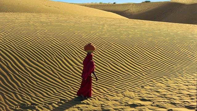 Sand Dunes, Thar Desert, Rajasthan