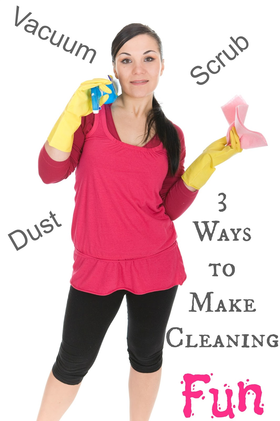 Ways to make #cleaning and #organizing more fun!