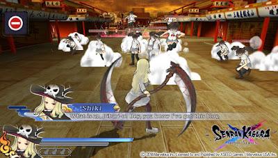 Senran Kagura Shinovi Versus Gameplay