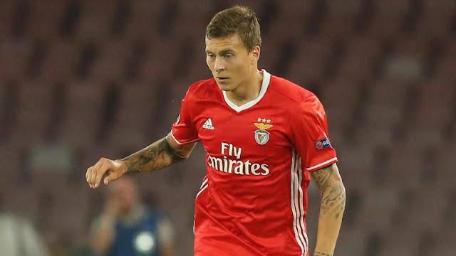 MU-Benfica Sepakati Transfer Lindelof