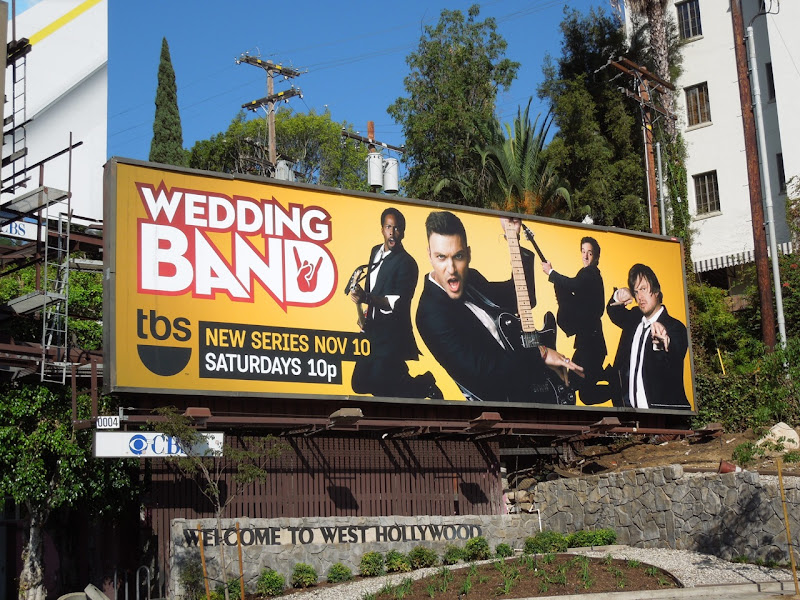 Wedding Band TBS billboard