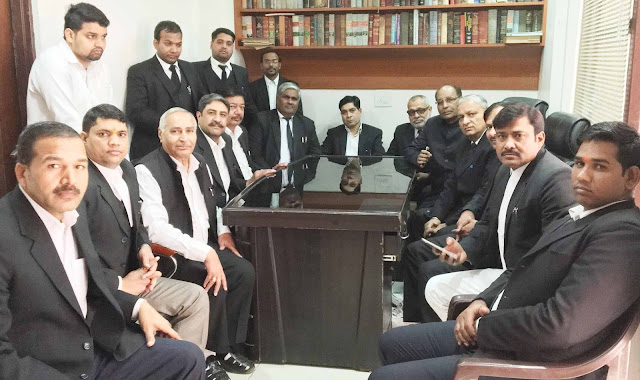 Seven demands made in meeting of security of lawyers in Faridabad
