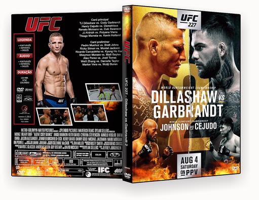 DVD UFC 227 Dillashaw vs Garbrandt 2 2018 – ISO – CAPA DVD