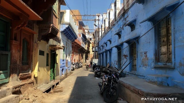Blue houses in Jodhpur