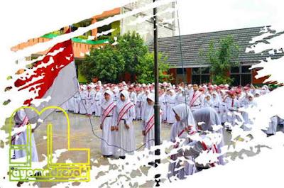 Pedoman pelaksanaan upacara bendera di sekolah atau  Pedoman Pelaksanaan Upacara Bendera di Sekolah