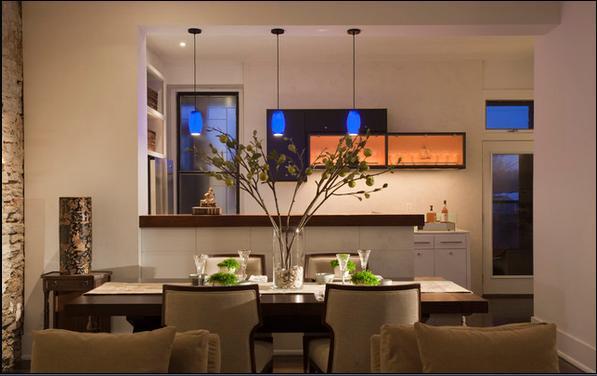 Fotos de comedores decoracion comedores for Decoracion de cocinas comedores modernos