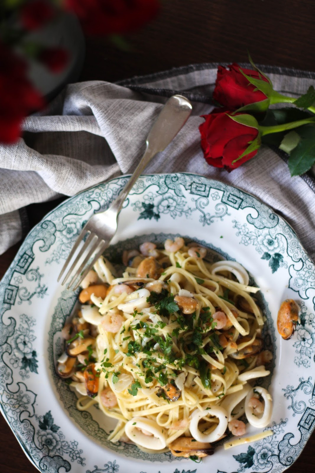 Valentine's Day menu: Delicious seafood tagliatelle recipe