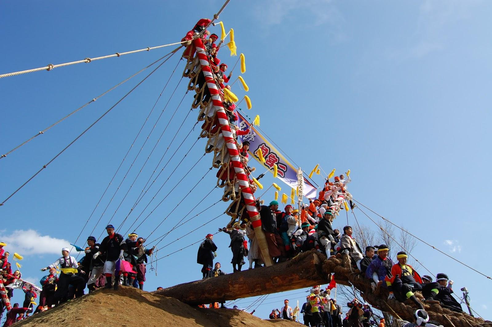 onbashira festival japan