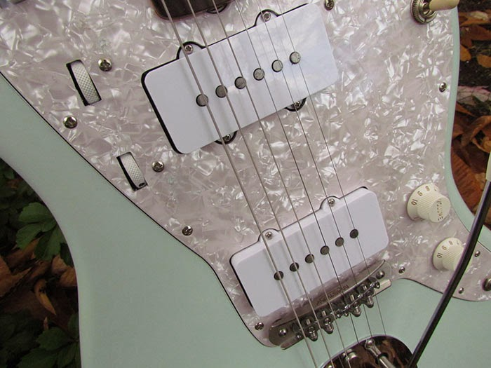 Alarmed Squier Vintage Modified Jazzmaster Rhythm Circuit Revisited