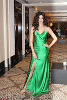 Disha Patani in Beautiful Green Gown at her App Launch 033.JPG
