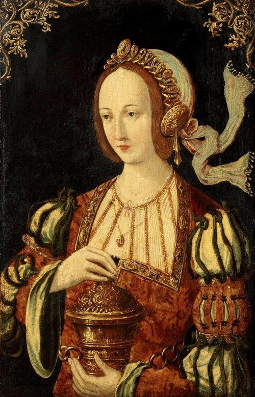 Антверпенская школа (Antwerp School), 1520-1530 Святая Мария Магдалина (Saint Mary Magdalene)