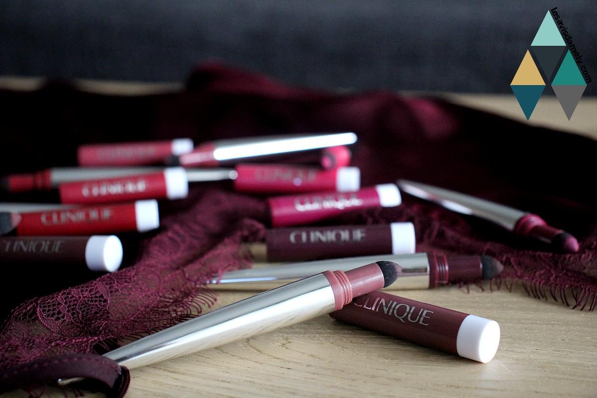 rouge à lèvres mousse couleur fard à lèvres clinique