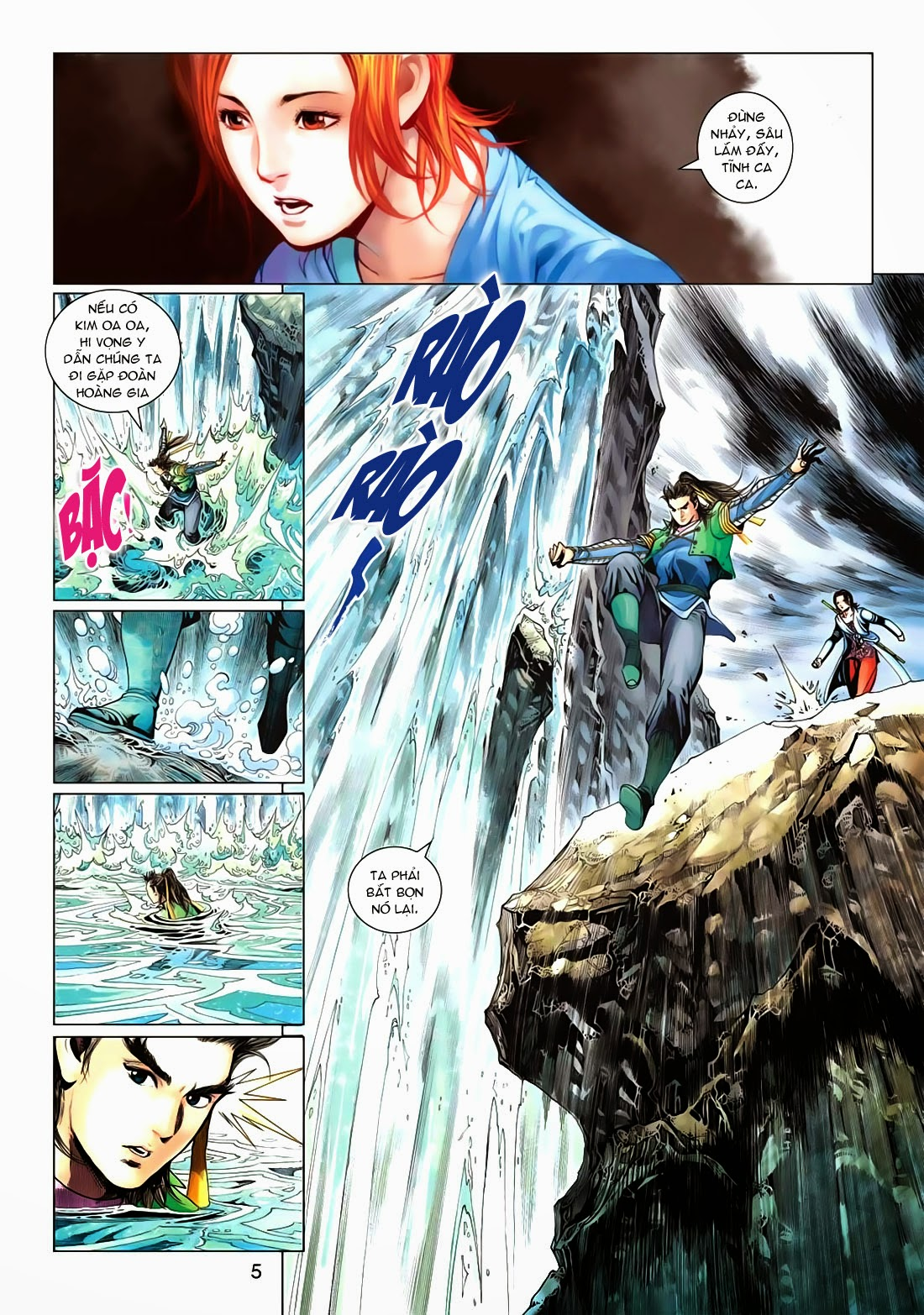 Anh Hùng Xạ Điêu anh hùng xạ đêu chap 72: ngư tiều canh độc trang 5
