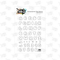 Phat Alphanumeric Stamp Set