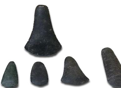 Gambar Kapak genggam zaman Batu Madya