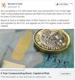 Basset & Gold 9% 5 year compounding bond review
