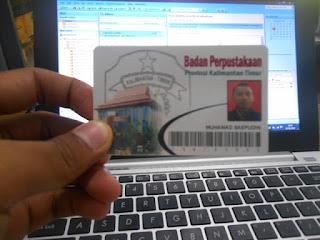 kartu anggota perpustakaan
