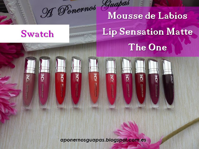 mousse de labios lip sensation matte the one oriflame