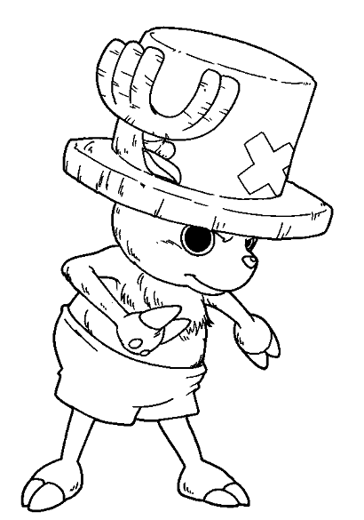 Anime Coloring Pages One Piece - Coloring And Drawing