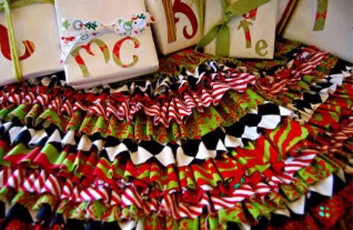 DIY Home Sweet Home: Tree Skirts