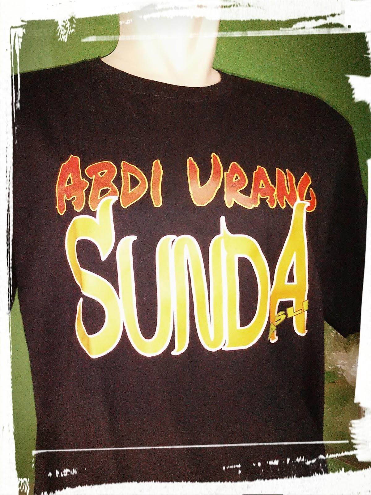 Print kaos satuan Potidu Sunda
