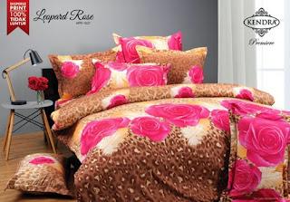 Sprei Kendra Premier Leopard Rose