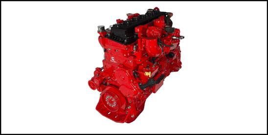 Cummins Westport ISX12N Near Zero Natural Gas Engine