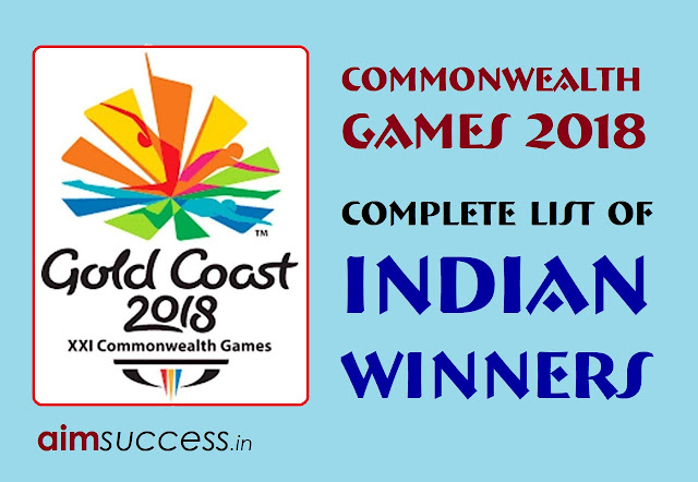 Commonwealth Games 2018: Complete List of Indian Winners