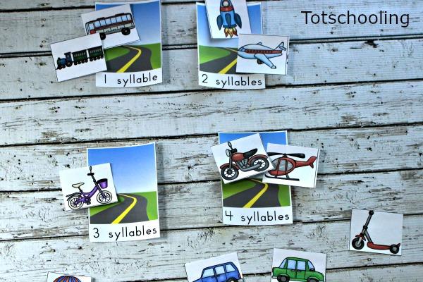 4 Transportation Themed Activities for Preschoolers | Totschooling ...