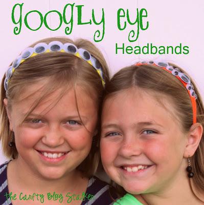 creative googly eye halloween crafts - Googly Eye Headbands