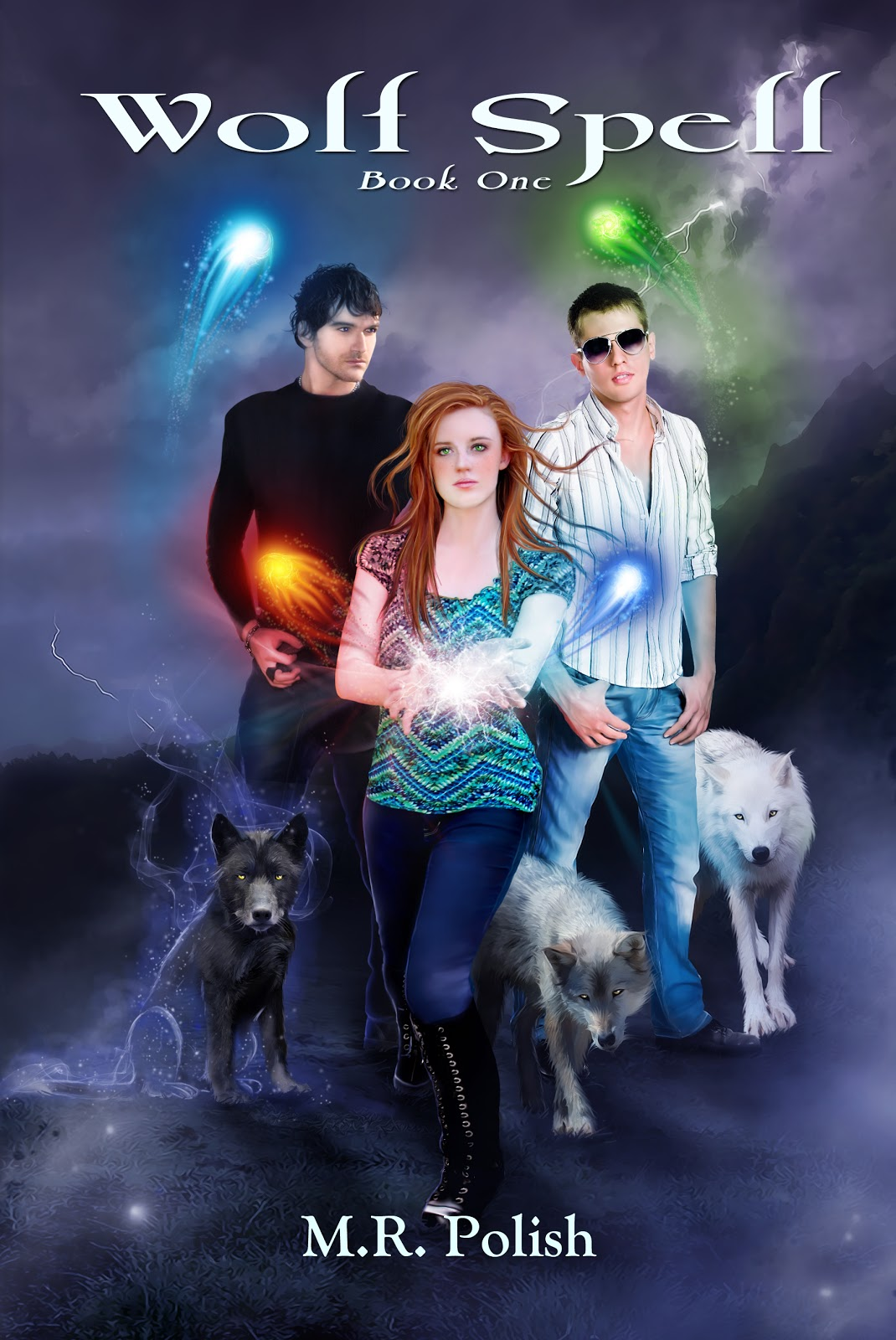 Book Addict Wolf Spell By M R Polish Blog Tour Giveaway
