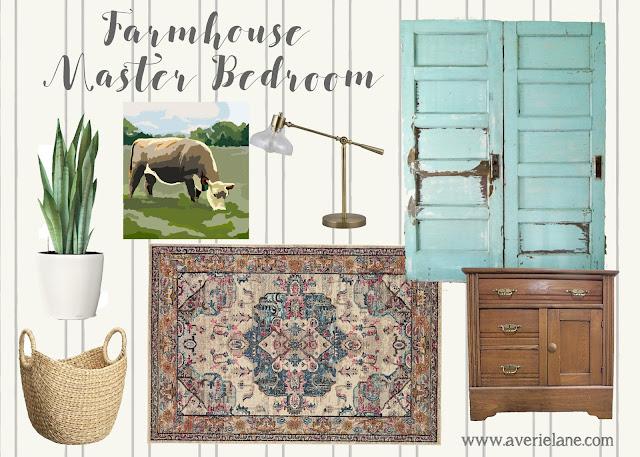 Farmhouse Master Bedroom Design Plan