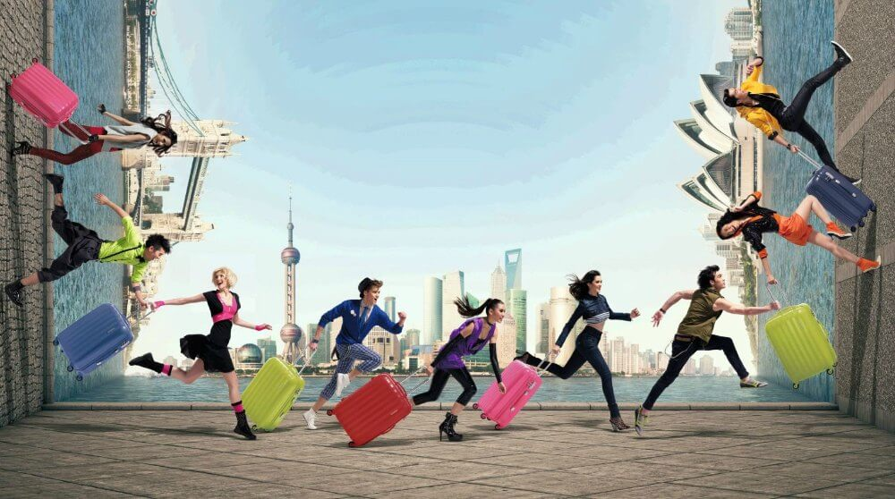 American Tourister Luggage Brand