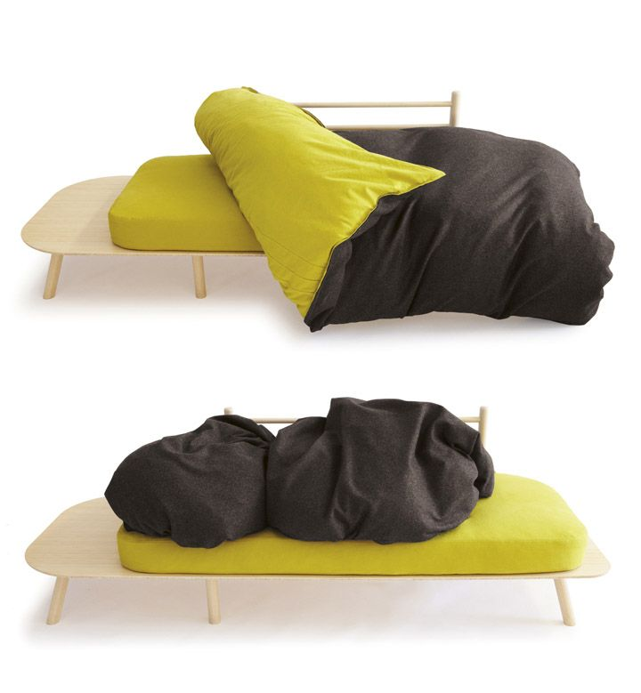 Creatividad y diseño de sofá cama