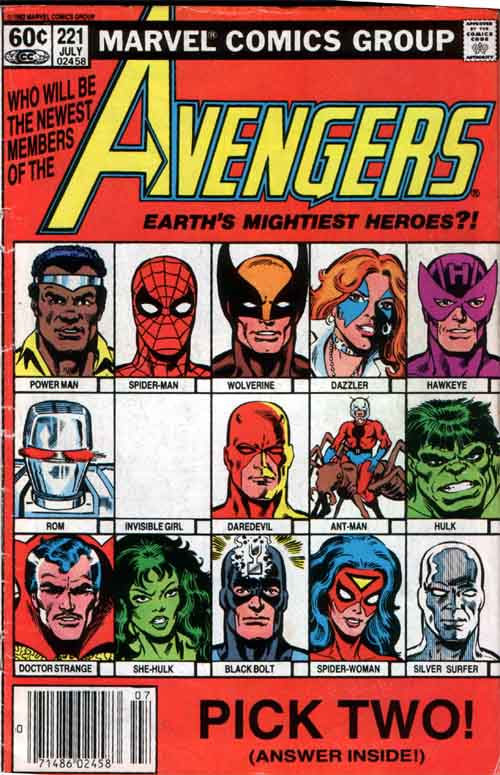 Marvel Comics: The Avengers #261