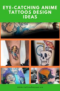 100 best anime tattoos design