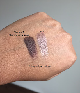Clinique Eyeshadow swatches