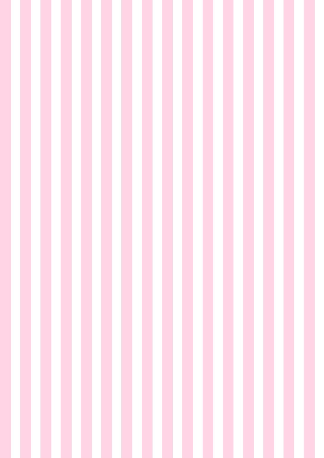 Pink And White Bedroom: Free Digital Striped Scrapbooking Paper