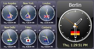 Sharp World Clock 7.40