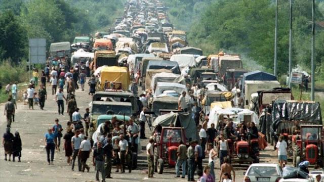 """Serbia acusa al régimen israelí de festejar un """"pogromo"""" croata"""