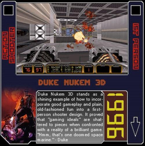 1996 - Duke Nukem 3D