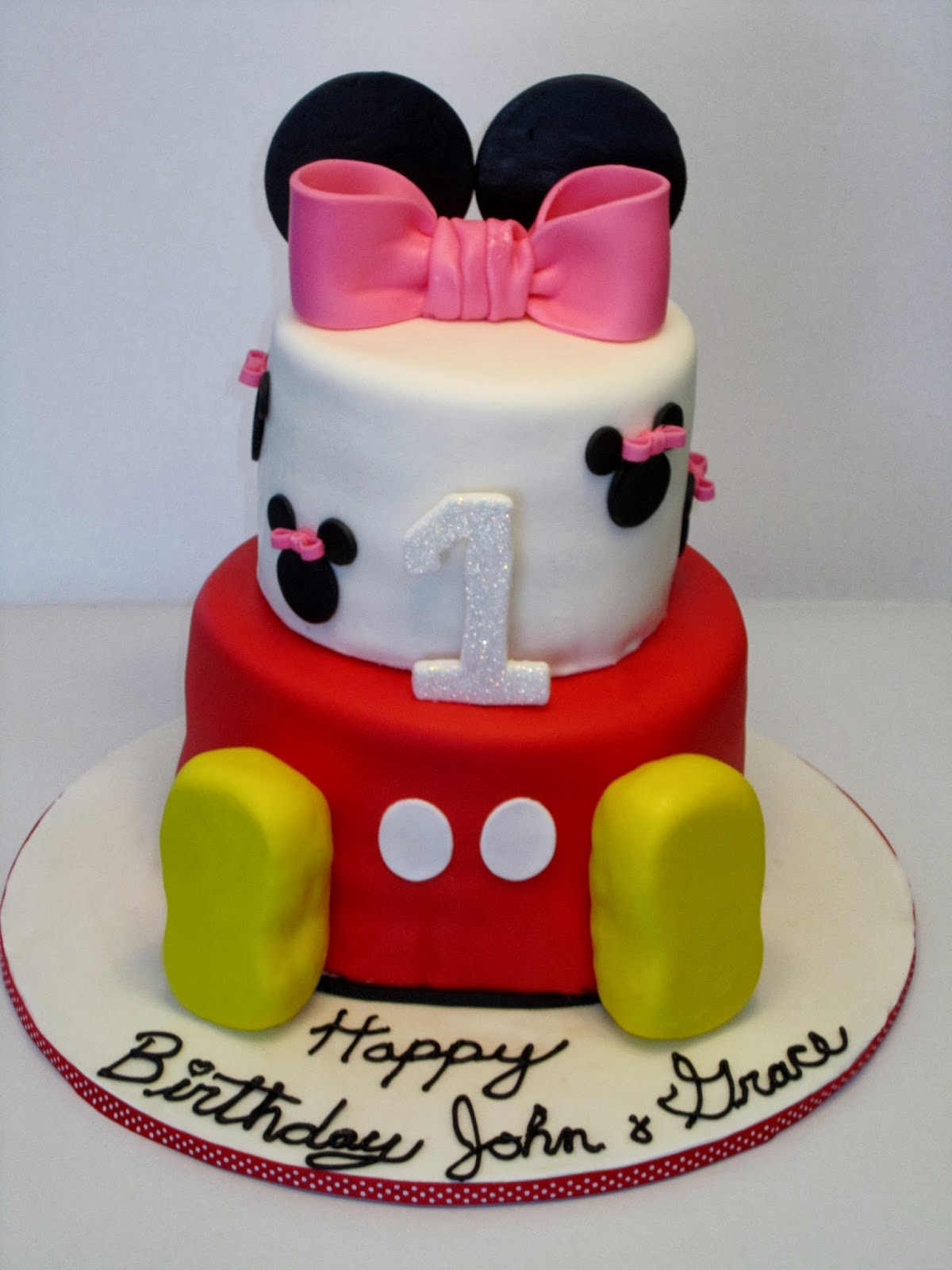 Cakes Or Something Like That Mickey And Minnie Twin