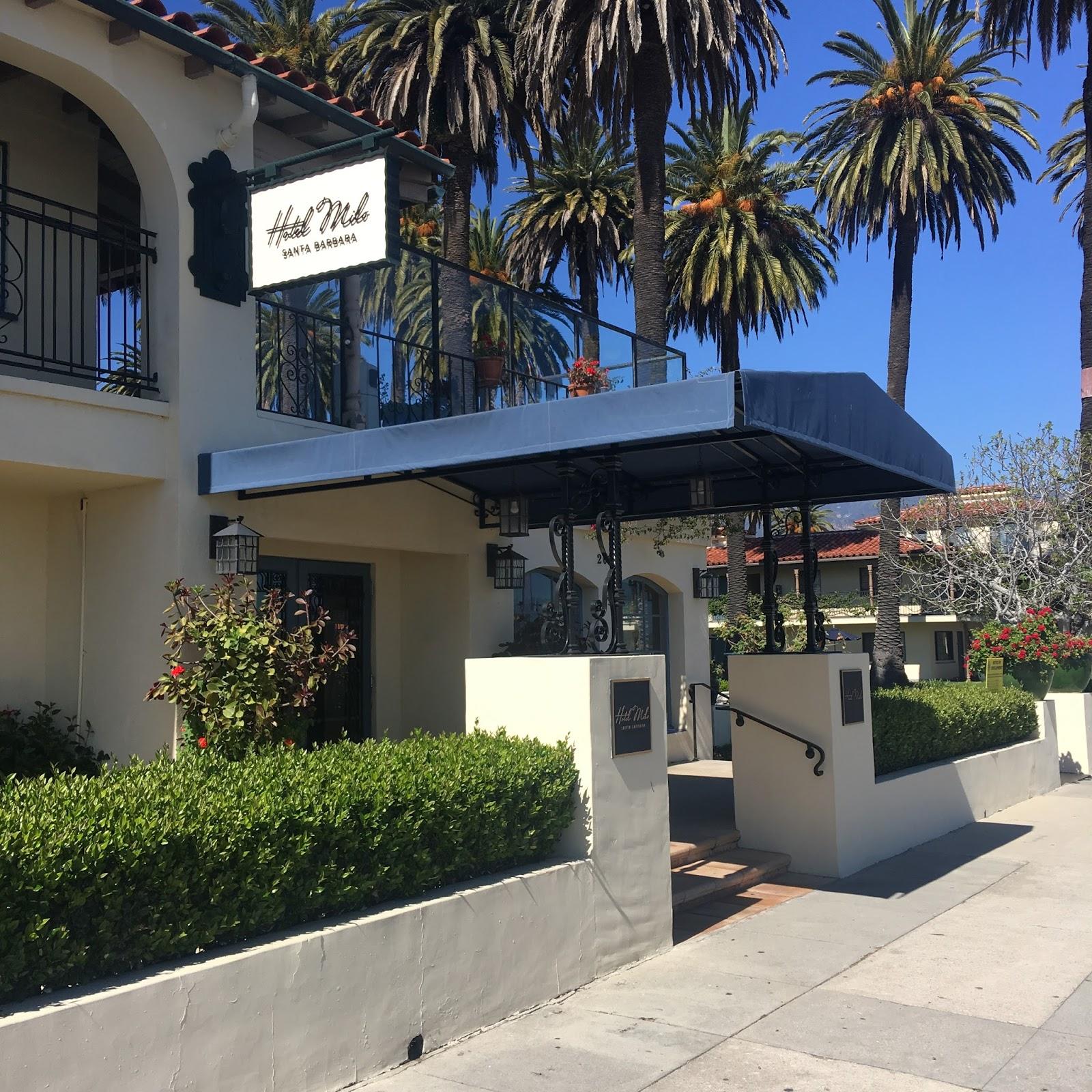 Santa Barbara Hotel, Hotel Milo, Beachfront Hotel