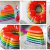 Tips Mudah Bikin Puding Rainbow Yang Cantik dan Menggoda!