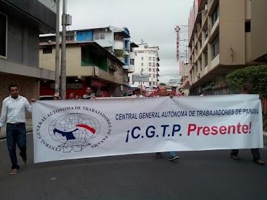 CONATO y CGTP - Se Manifiestan por un Salario Mínimo Justo y contra el Alto Costo de la Vida