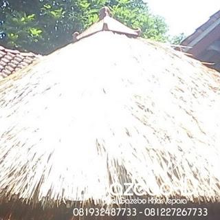 Atap alang-alang / Rumbia Jepara